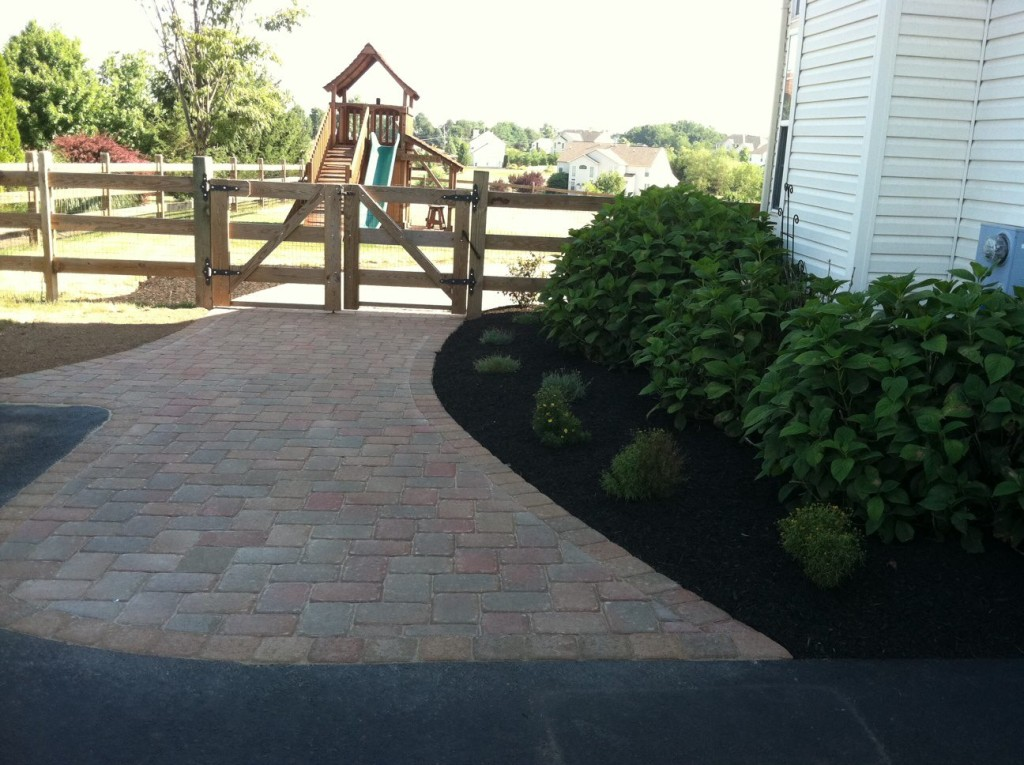 Paver Walkway Project